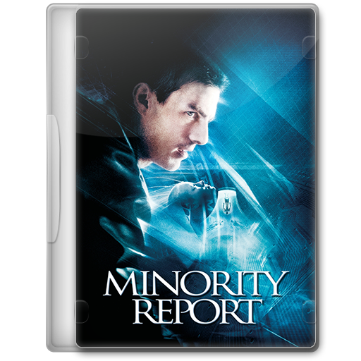 Minority Report 2002 Movie Dvd Icon By A Jaded Smithy On