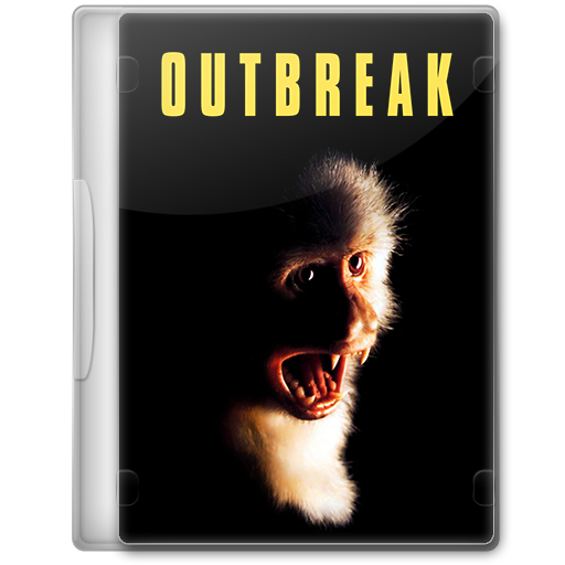 Outbreak 1995 Movie Dvd Icon By A Jaded Smithy On Deviantart
