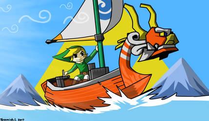 The Legend of Zelda Wind Waker by Bagelcrust