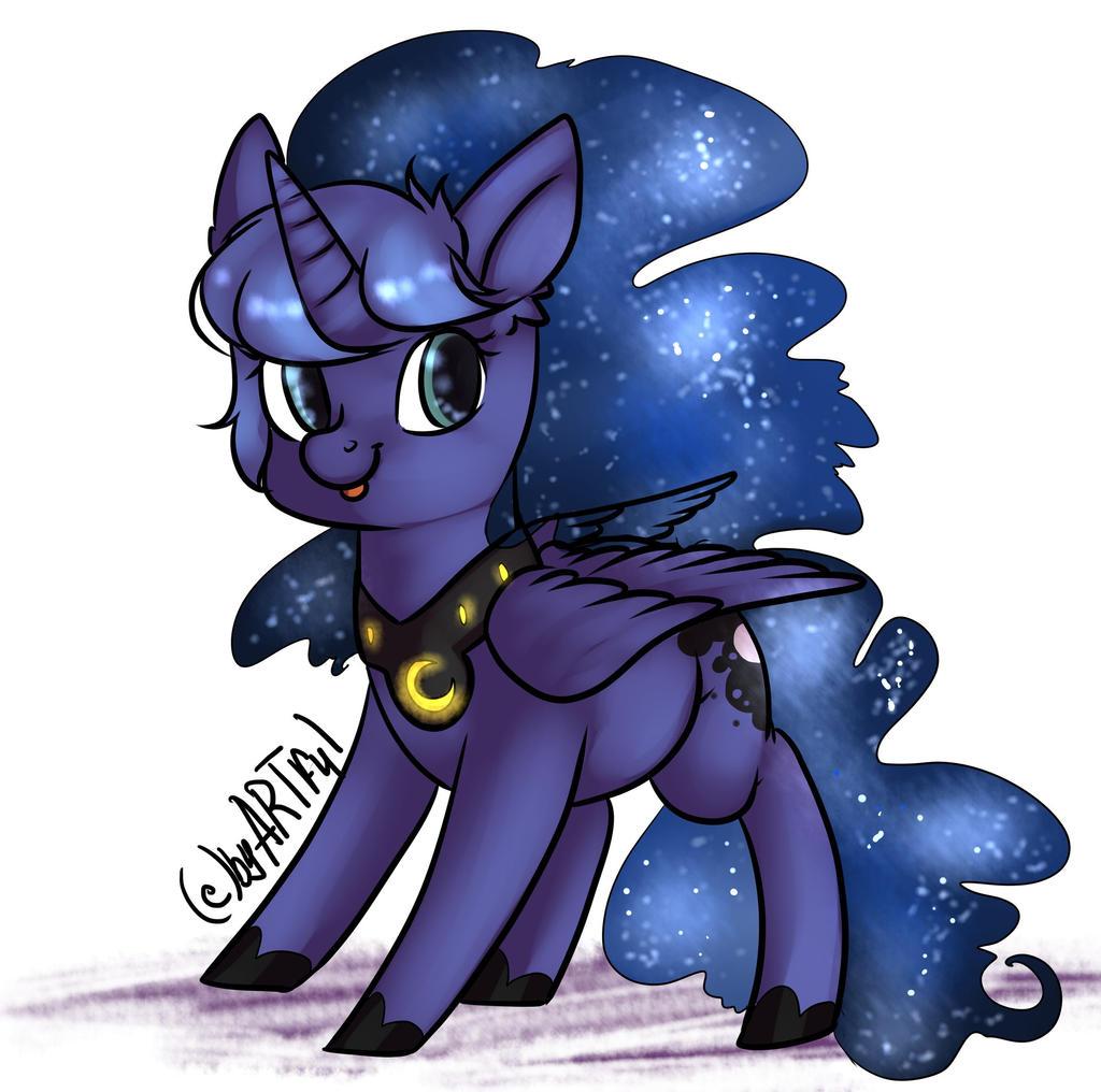 Luna (Chubby) by yukomaussi