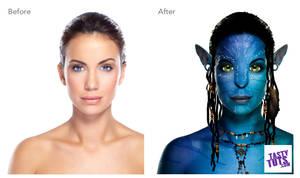 Na'vi - Avatar photo transformation by tastytuts