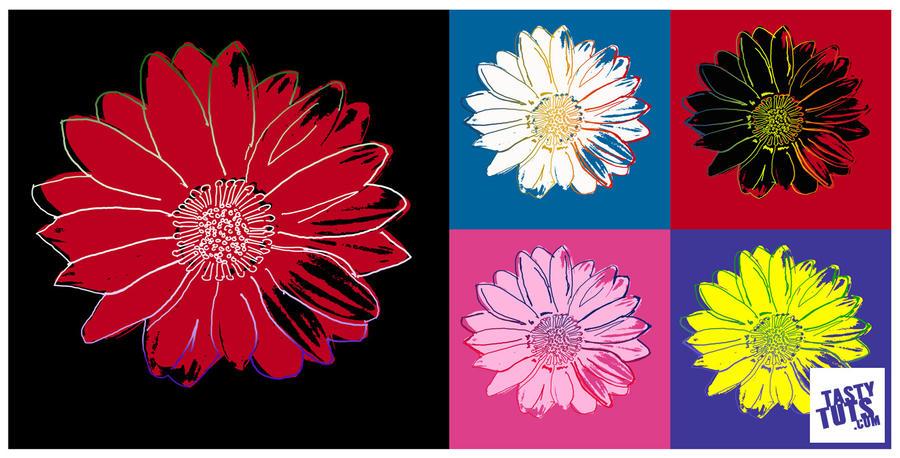 Andy Warhol Pop Art Flower - Photoshop Tutorial by tastytuts