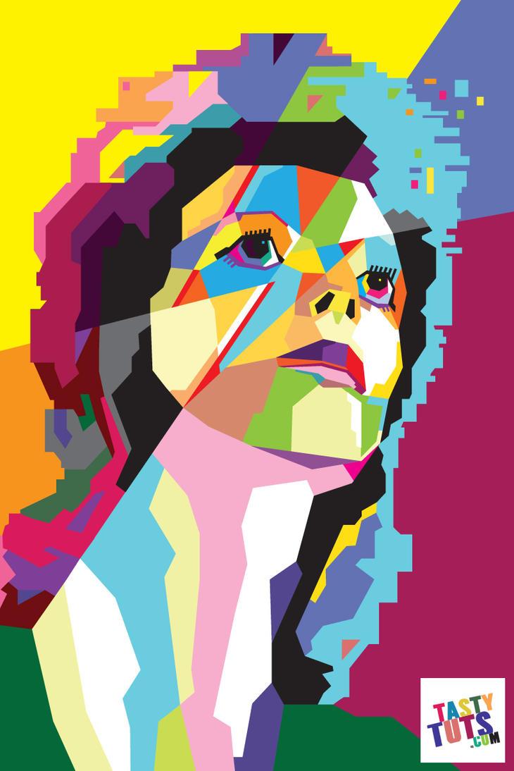 Create Wpap Art In Adobe Illustrator By Tastytuts On