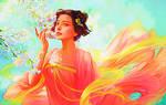 Dream Girl based on the art of Da congjun