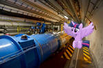 Twilight In the LHC tunnel
