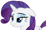 [Request] Rarity with Raised Eyebrow