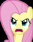 Fluttershy Expressing Her Anger