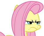 Fluttershy is not impressed