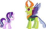 Starlight and Thorax the new King