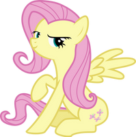 Fluttershy not so shy by Uponia
