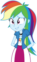 Rainbow Dash Positively Unsure
