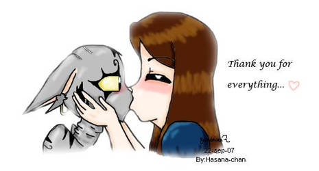 Thank you for everything... by Hasana-chan