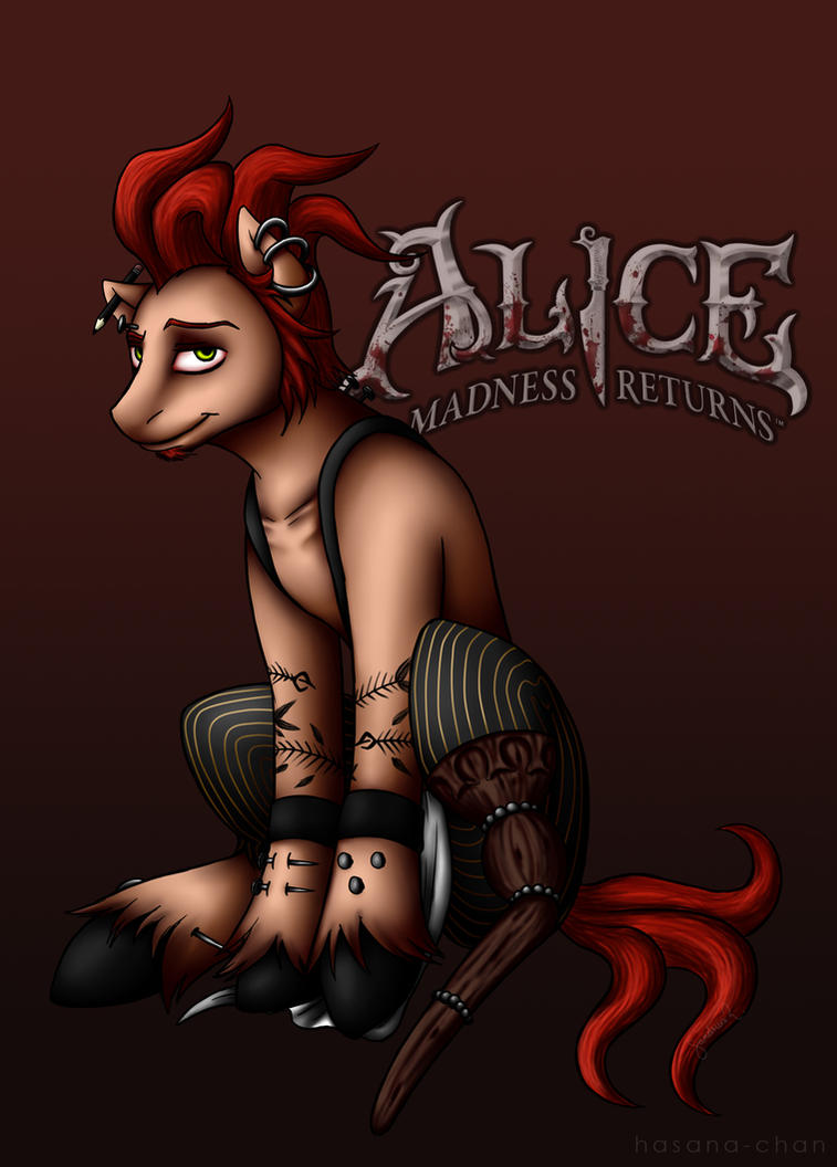 The Carpenter Pony - Alice Madness Returns by Hasana-chan