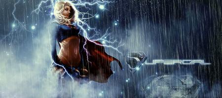 Supergirl signature by RainofRaijin