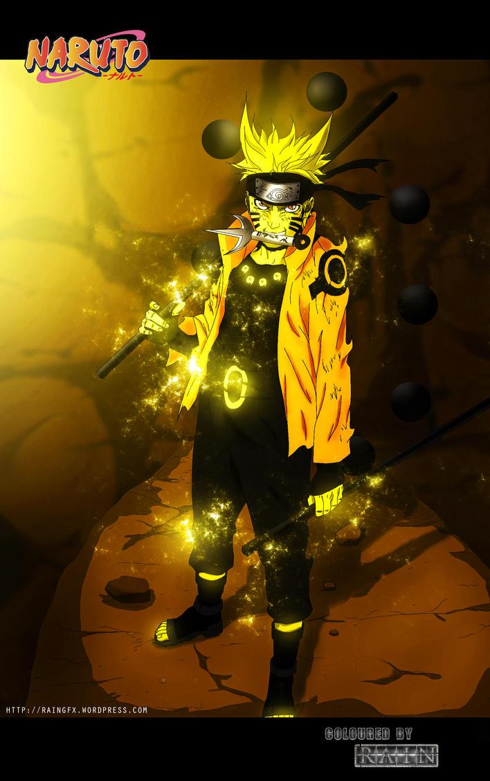 Naruto Colouring by RainofRaijin