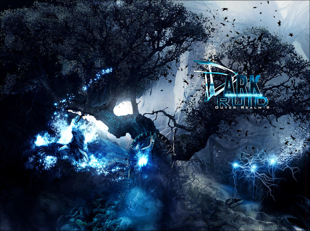 Dark Druid by RainofRaijin