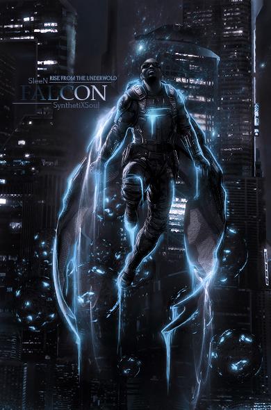 Falcon- collab by RainofRaijin