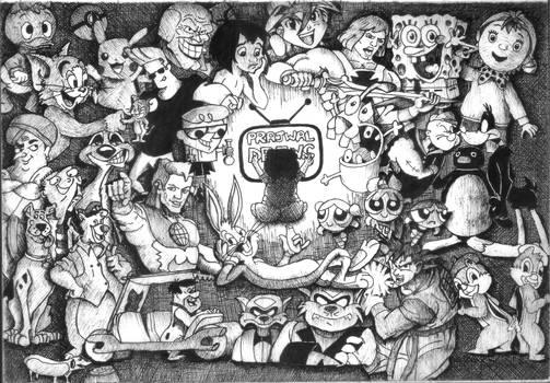 My childhood cartoons