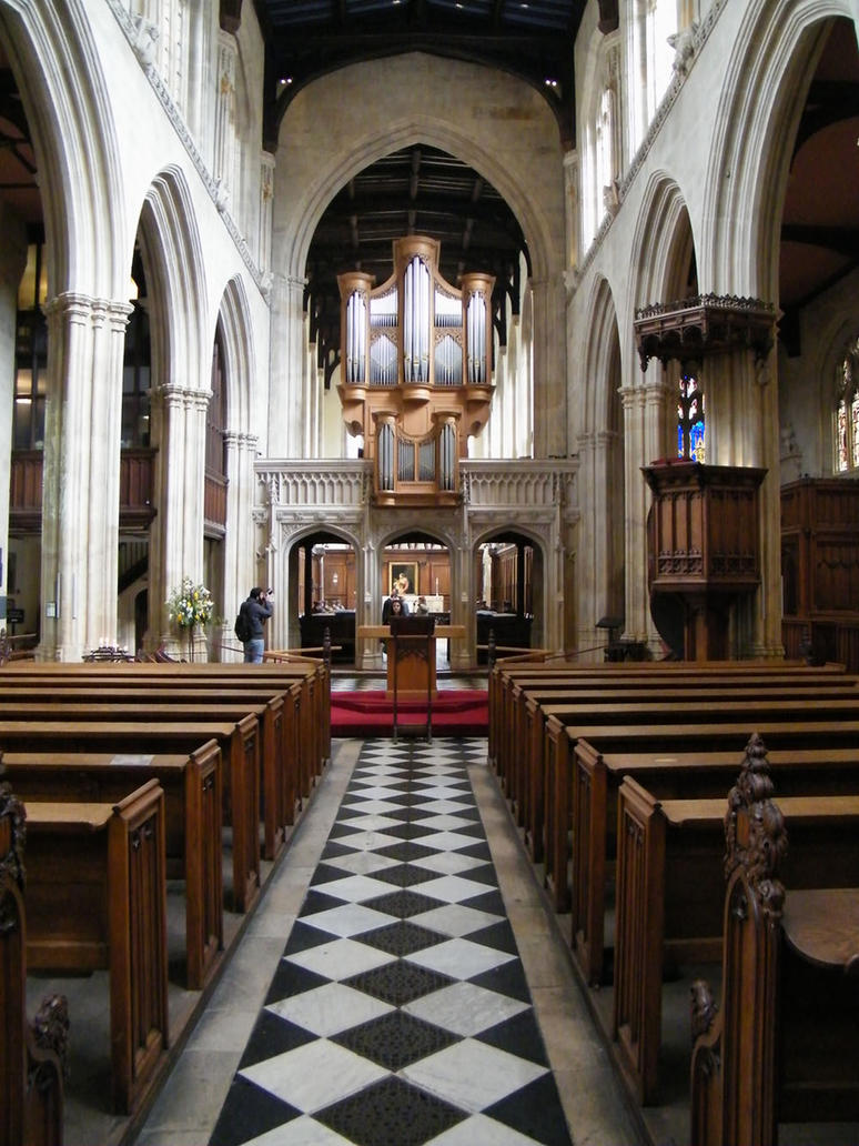 Church Interior 04 by Cherry-Tree-Stock