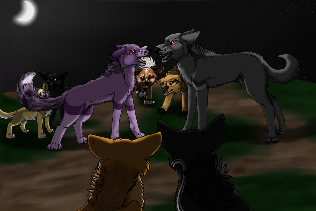 Transformers, Werewolf AU, Group Shot by digisploosh