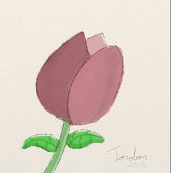 Water Rose by gjordanra
