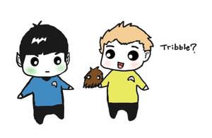 Spock and Kirk by 15ath