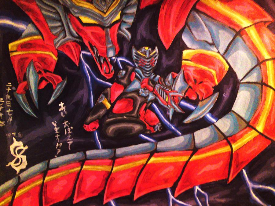 kamen rider dragon knight by celestialangelsergel on ...