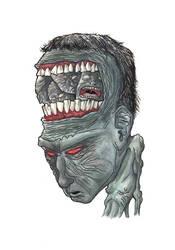 Strange headache by Jose-Rodriguez