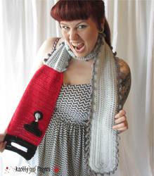 I'm a Chainsaw scarf and I'm OK!