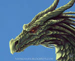 Green Dragon, detail