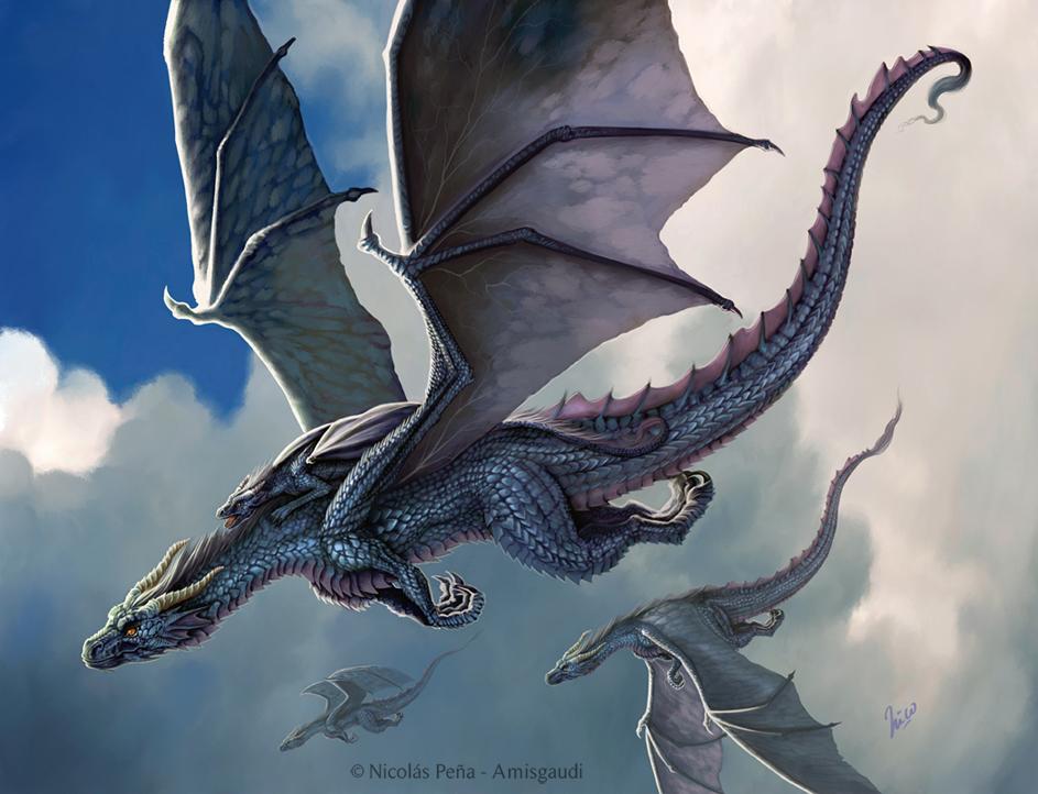 Blue Dragon.