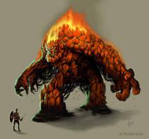 Fire Elemental by Amisgaudi
