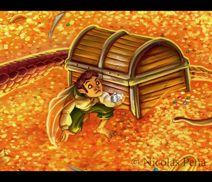 Bilbo by Amisgaudi