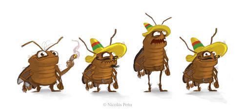 Cockroach by Amisgaudi