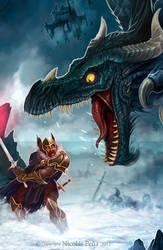 Black Dragon, details by Amisgaudi