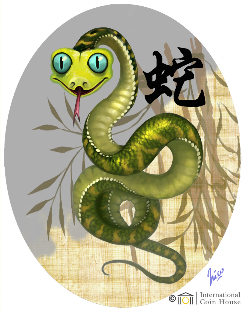 chinese art snake - photo #30