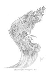Origins sketch by Amisgaudi