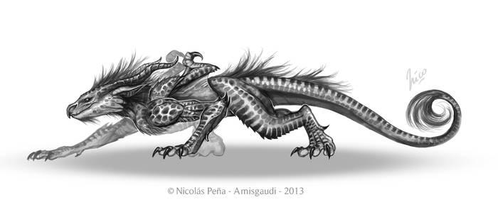 Dracoraptor by Amisgaudi