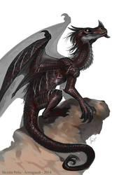 Commission, Dragon by Amisgaudi
