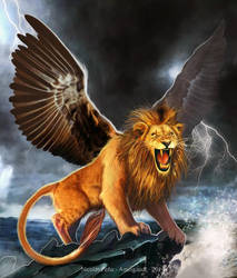 The winged Lion, commission 2