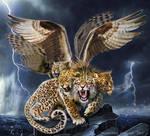 Leopard 4 Head, commission 2