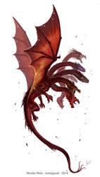 Dragon 7 head, commission