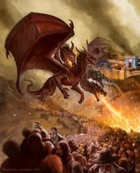 Revelation Dragon , commission by Amisgaudi