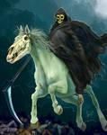 Horseman of the Apocalypse, commission, details 4