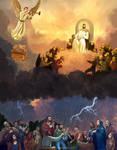 7th Trumpet, Revelation 11:15-19 Commission.