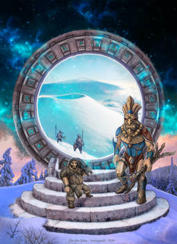 The Last Stargate on Earth, Commision.