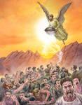 Revelation 16:8-9. commission