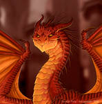 Smaug, the magnificent. Commission. Details