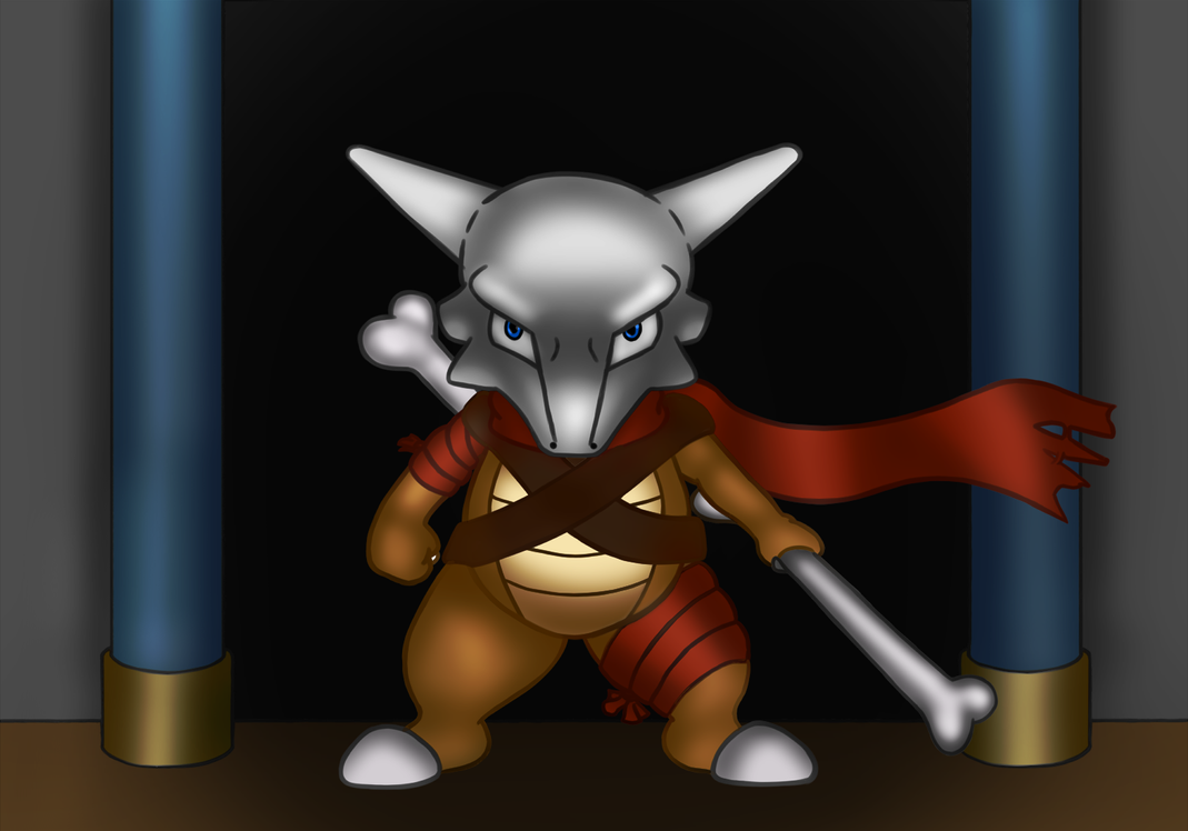 The Story of Cubone - Danger at the Door by Ryusuta