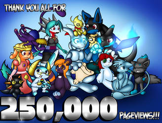 250,000 Pageview Celebration - Work and Friendship by Ryusuta